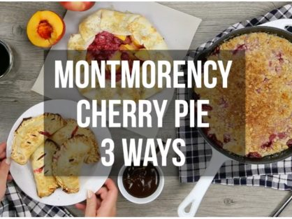 Montmorency Tart Cherry Pie Recipe