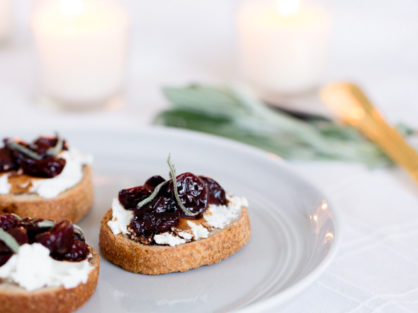 Cherry and Sage Crostinis 002 700x455