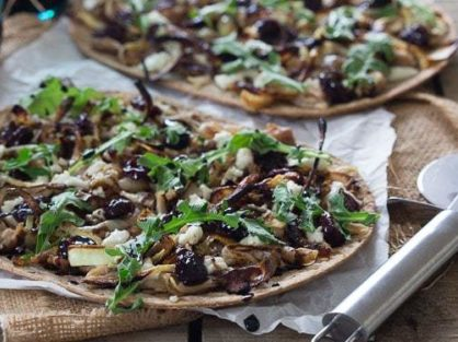 Chicken Cherry Flatbread 2