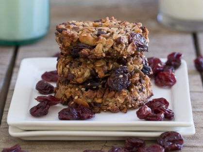 Cherry Almond Butter Power Cookies