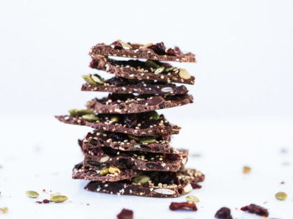 Cherry Dark Chocolate Bark