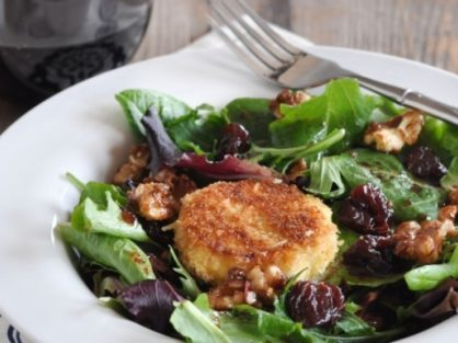 Cherry Goat Cheese Salad