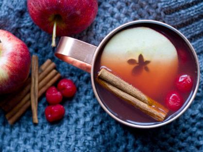 Mulled Tart Cherry Apple Cider