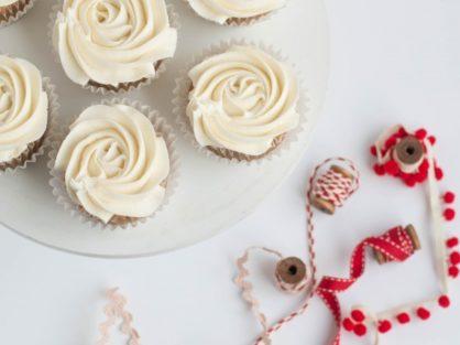 Tart Cherry Cupcakes