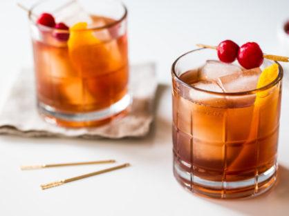 Tart Cherry Old Fashioned