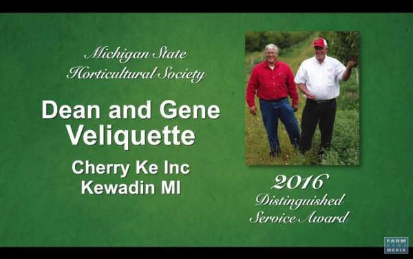 Veliquette Distinguished Service Award