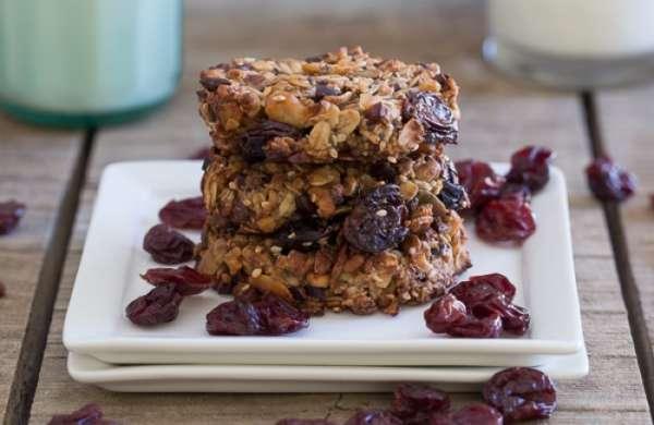 Cherry Almond Butter Power Cookies