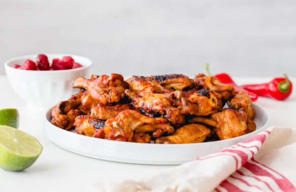 Instant Pot Montmorency Cherry Chili Chicken Wings