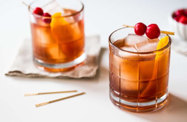 Tart Cherry Old Fashioned