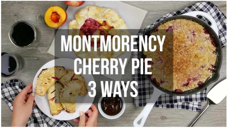 Montmorency Tart Cherry Pie Recipe