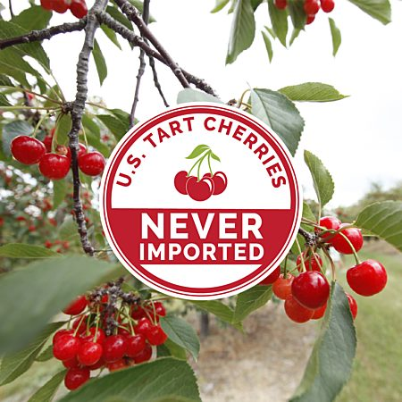 Never Imported Tart Cherries