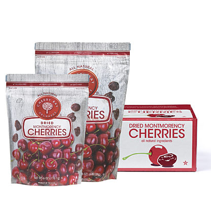 Dried montmorency tart cherries group