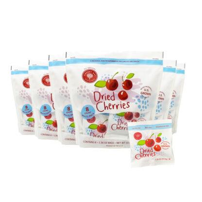 Dried tart cherries snack pack multipack
