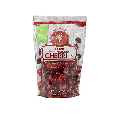 No Added Sugar Dried Tart Cherries 8 oz