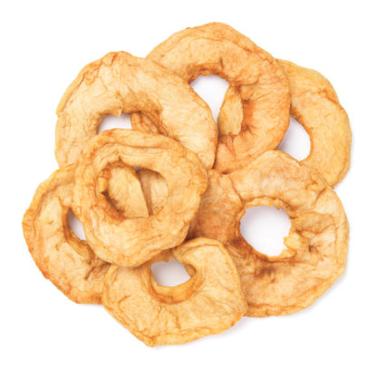 Organic Dried Apple Rings