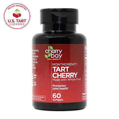 Tart cherry softgel usa