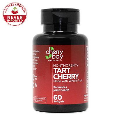 Tart cherry softgel