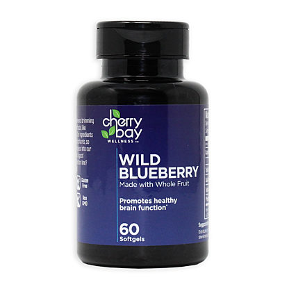 Wild blueberry softgel