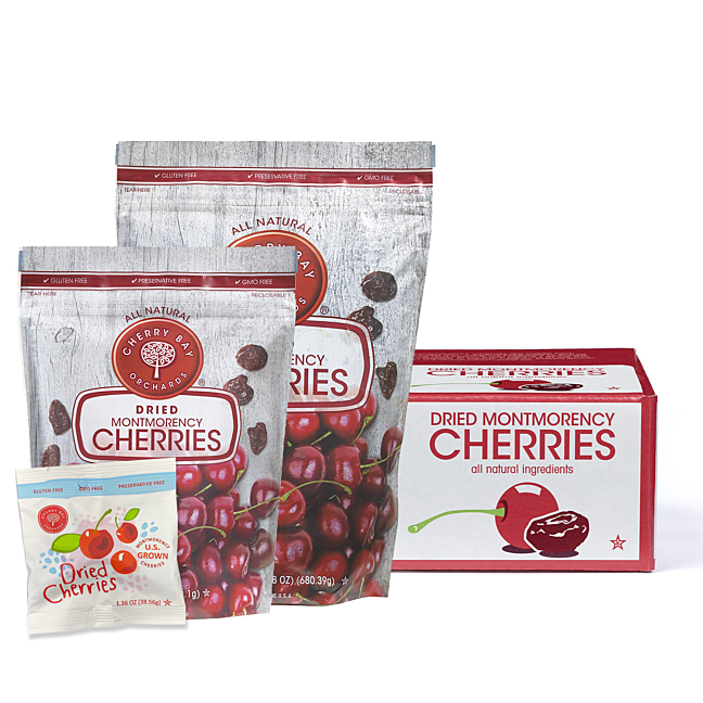 Dried Montmorency Tart Cherry Products