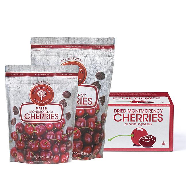Dried montmorency tart cherries group