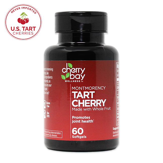Tart cherry softgel usa
